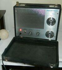 Peterson Model 320 Chromatic Tuner Vintage