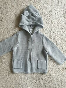 Baby GAP Cotton Knitted Cardigan 6-12 Months BNWT