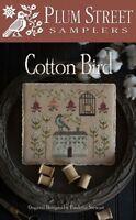 Cotton Bird - Plum Street Samplers New Chart