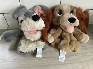 Lady And The Tramp Hand Puppets - Disney
