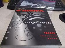 OEM Honda Service Manual 1997-1998 TRX250 61HM801