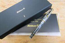 New Pelikan M250 Souveran Demonstrator Fountain Pen - BROAD 14k nib
