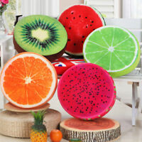 Round Fruit Seat Pads Home Garden Kitchen Chair Cushions Dinning Patio Pillow