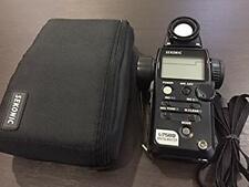 Sekonic L-758 D Digital Master Light Meter Tested Working Used Ex++
