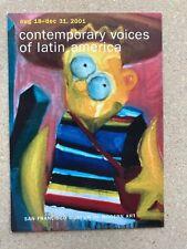 Bart Simpson San Francisco Museum of Modern Art Postcard Voice of Latina America