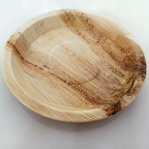 Hand made natural Arecanut leaf plate 100% Eco friendly sri lanka 10 pcs