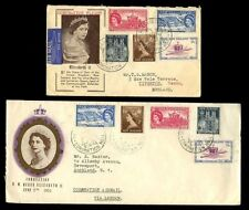 Royalty Used First Day Cover New Zealand Stamps