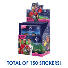 2019-20 TOPPS Лиги чемпионов коробка 30 упаковка 150 наклейка искать Холанд новичок