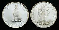Canada 1967 Centennial Silver Wolf UNC BU Fifty Cent Piece!!