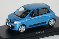 Renault Twingo 2015 blau 1:43 Norev neu & OVP 517413