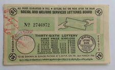 1956 36th Lottery drawn in Sungei Patani