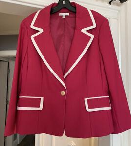 St John Sport Cotton jacket size XL