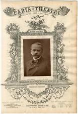 Lemercier, Paris-Théâtre, Louis Théodore Barrière (1823-1877), auteur dramatique