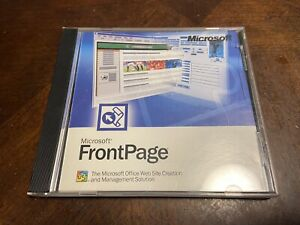 Microsoft Office FrontPage Version 2002 With Product Key. Excellent 100% OEM