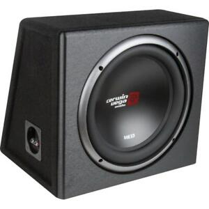 """Cerwin-Vega Mobile XE10SV XED Series Single 10"""" Subwoofer in Loaded Enclosure"""