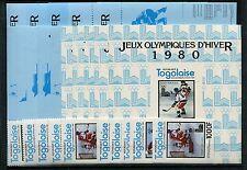 Togo 1508/12 A+B Block 169/73 A+B + Sonderblöcke postfrisch / Olympiade ....1/48