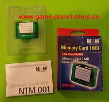Memory Card 1 MB Speicherkarte NEU Nintendo 64 N64 OVP Sammlung