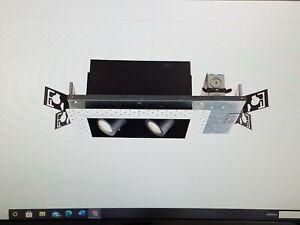 "WAC Lighting MT4LD216NE-S30-BK with ""Invisible Trim"""