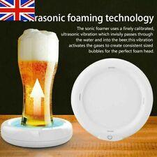 Home Work Sonic Beer Foamer Ultrasonic Frother Vibration Maker Bubbler Tool Gift