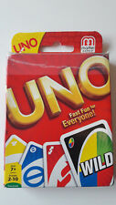 UNO Card Game. Kids / Adults Travel Game. From Mattel, with instructions
