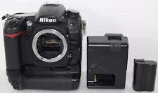 Nikon D D7000 16.2MP DSLR Digital SLR Camera Body w/Battery Extender 7368 Clicks