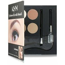 NYX Eyebrow Kit With Stencils 4 x colours and 3 x stencils *BRAND NEW BOXED*