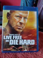 Live Free or Die Hard (Blu ray)