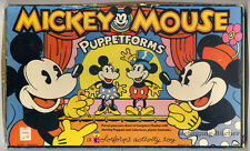U.S.- Mickey Mouse Puppetforms, Kostümtheater für Kinder um 1971