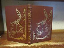 A Clockwork Orange Book Anthony Burgess The Easton Press Science Fiction Leather