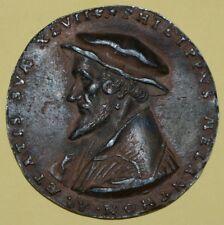 GERMANY - Rare and ancient uniface Melanchthon medal Philippvs Melanthon RRRR