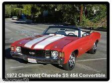 1972 Chevrolet Chevelle SS 454 Convertible Refrigerator Magnet