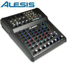 Alesis MM8 MultiMix 8 Channel USB FX Mixer With Effects + USB Audio Interface