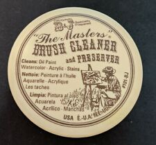 The Masters Brush Cleaner and Preserver 70ml Carded.