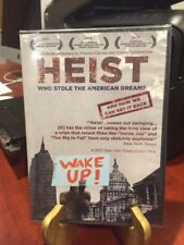 Heist: Who Stole the American Dream (DVD, 2013) Mfg. Sealed