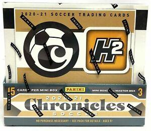 2020/21 Panini Chronicles Soccer Hybrid H2 Factory Sealed Box