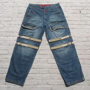 Vintage Marithe Francois Girbaud Taped Shuttle Logo Denim Jeans
