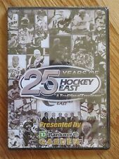 25 Years HOCKEY EAST DVD Sealed CHRIS DRURY PAUL KARIYA JERRY YORK JACK PARKER