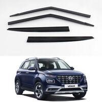 Smoke Tinted Weather shields 4pcs for 2019 2020 2021 Hyundai All New Venue