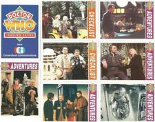 Dr Doctor Who Cornerstone Series 1 Full 110 Card Base Set of Trading Cards
