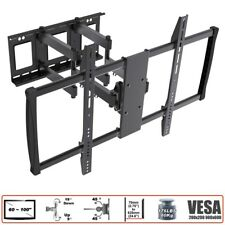 "TV Wall Mount Swivel Tilt Curve 60 63 65 70 75 80 85 90 100"" Screen LED LCD VESA"