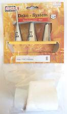 Professional Icing Set by Original Kaiser Backform. 3 Nozzels 1 Bag and Coupler
