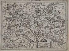 Palatinat Bavariae Bayern Landkarte - Kupferstich - 1628