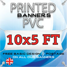 10 X 5 FT PVC BANNER - OUTDOOR SIGN - ADVERTISING VINYL BANNERS - BIRTHDAY PARTY
