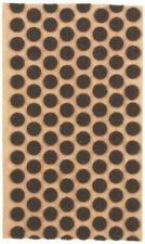 """360 3/8"""" Brown Felt Dots Surface Protector Pad Trophy Cabinet Furniture Crafts"""