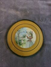 Vintage Original Victorian Era Nursery Mother Babe in Arms Baby Swing Flue Cover