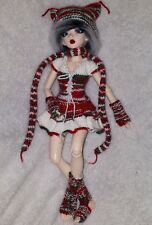 Clothes for BJD Minifee Doll (red/green/white)