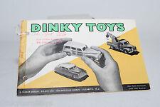 DINKY TOYS CATALOGUE KATALOG 1952 ENGLISH USA DOBSON EXCELLENT CONDITION RARE!!