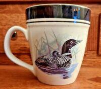 Loon Lake Folkcraft Stoneware Scotty Z Large 16oz. Coffee Mug