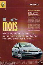 Publicité advertising 2002 Renault Laguna Privilège
