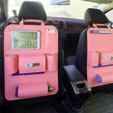 Car Seat Back Storage Bag Multi Pocket Organizer Cup iPad Holder Kids Kick Mat